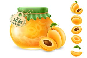 Apricot set