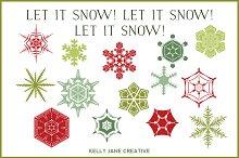 Christmas Snowflakes - Vector