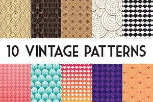 10 Vintage Patterns