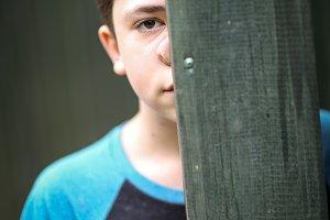 teenager boy happy summer outdoor