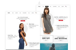 Pear - PSD Ecommerce Template