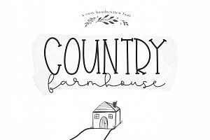 Country Farmhouse - Script Duo Font