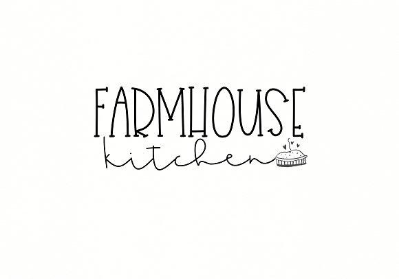 Country Farmhouse - Script Duo Font
