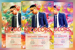 DJ Colors Flyer