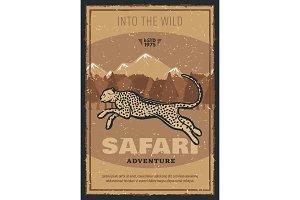 Safari hunting adventure