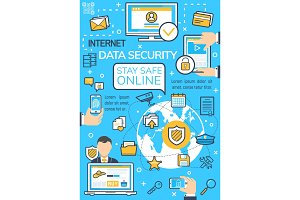 Internet data security technology
