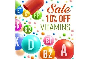 Vitamins and multivitamins sale