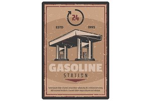 Gasoline station service