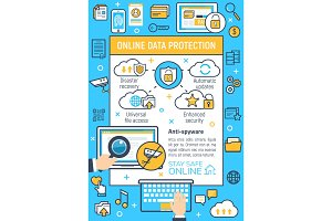 Internet online data protection