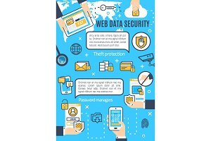Web data and internet security