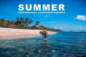 Summer Pro Lightroom Presets