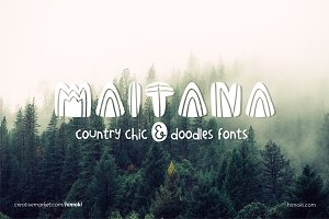 Maitana_country_scandinavian_6fonts