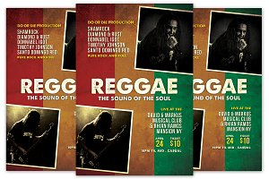 Reggae Sound of the Soul Flyer
