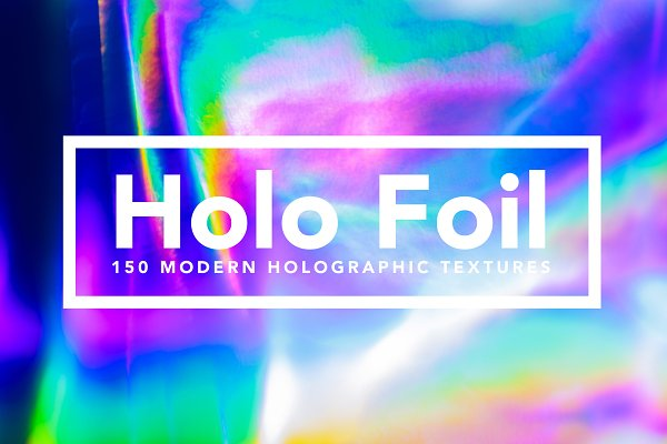 Graphics: Fox & Bear - Holo Foil - Holographic Textures