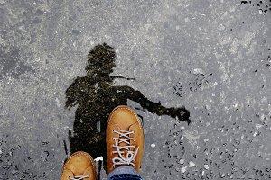 Walking after Stopped Raining