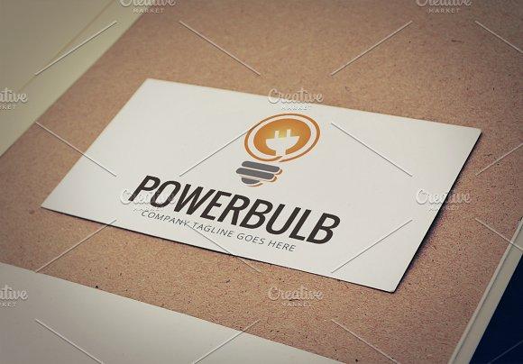 Power Bulb Logo Template in Logo Templates