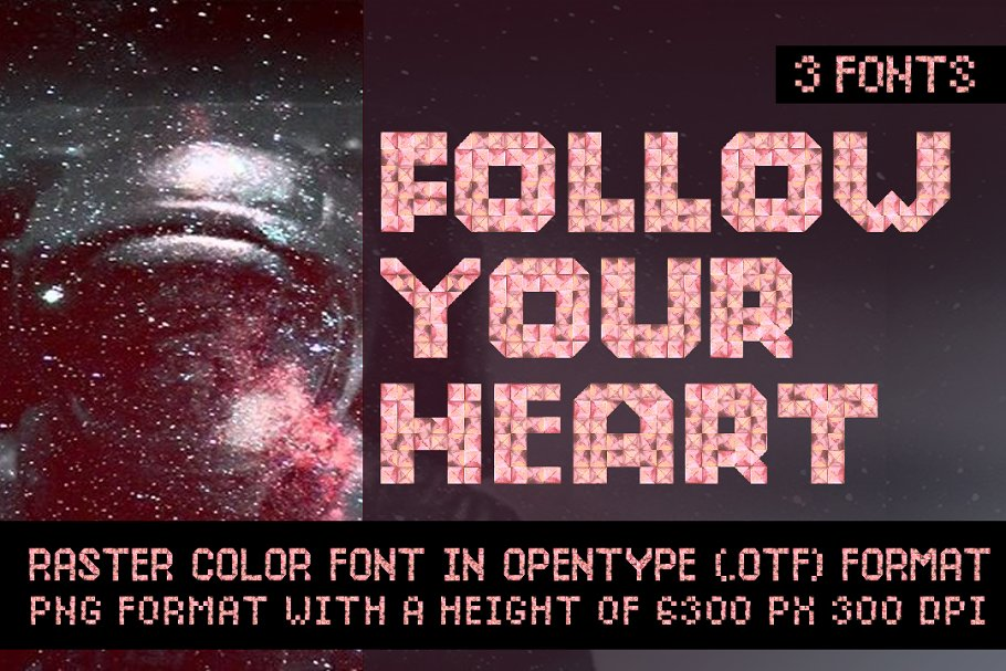 Best FOLLOW YOUR HEART Vector