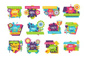 Premium Quality Super Sale Labels