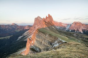 Dolomites Alps in the Italy