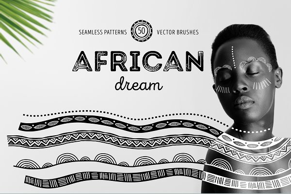 African dream - patterns and brushe…