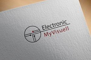 Modern Electronic Logo Design