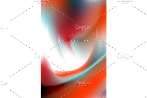 Holographic paint explosion design