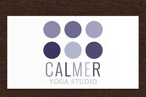 Calmer Yoga Studio Logo - PSD