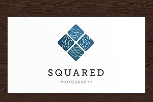 Squared Photography Logo - PSD