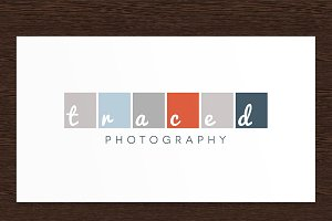 Traced Photography Logo - PSD