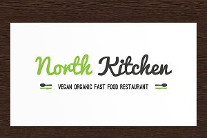 North Kitchen Restaurant Logo - PSD