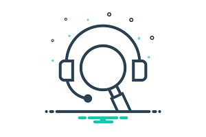 Consulting support icon