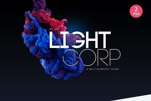 Lightcorp | Multipurpose PSD Templat