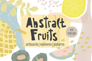 Abstract Fruits Collection