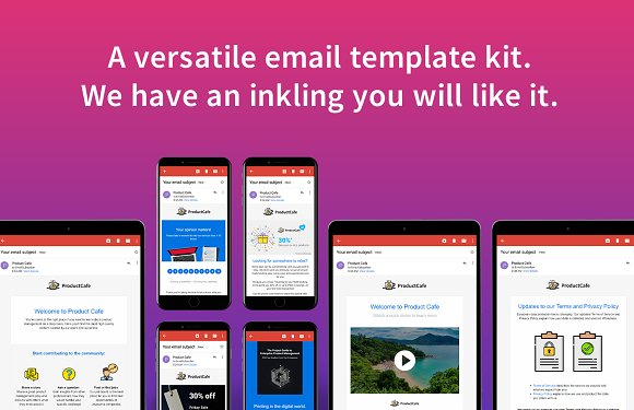 Inkling - 29 email templates