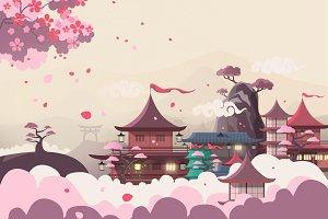 Blossom Valley Illustration