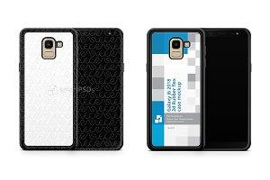 Samsung Galaxy J6 2d Rubber Flex