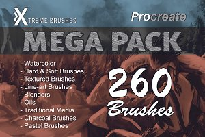 Procreate MEGA PACK!