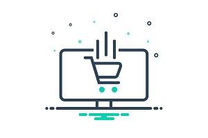 Ecommerce service icon