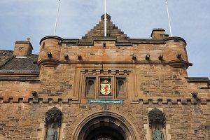 Edinburgh castle in Scotland