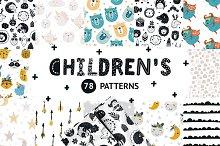 Children patterns Bundle