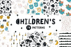 Children patterns Bundle