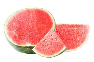 Watermelon  isolated on white backgr