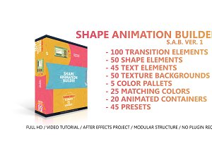 Shape Animation Builder