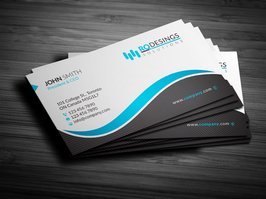 Corporate Business Card 12 ~ Business Card Templates ~ Creative Market