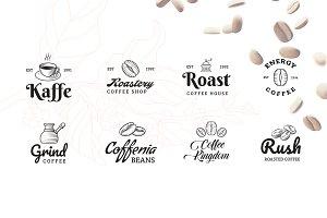 Coffee Logo Builder 100+ Variations