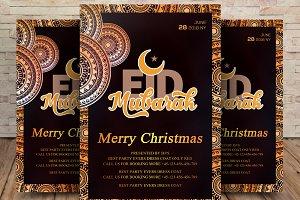 Eid Mubarak Greeting Card/Flyer