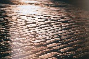 Cobblestone stones