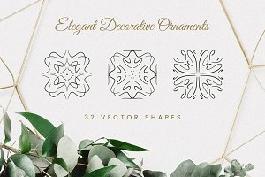 Elegant Decorative Ornaments