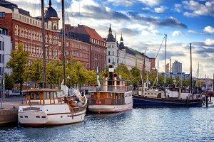 Beautiful cityscape, Helsinki