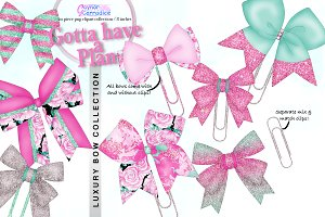 Gotta Have a Plan Bows Collection